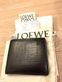 Loewe Man Wallet 1100Black lv gucci givenchy