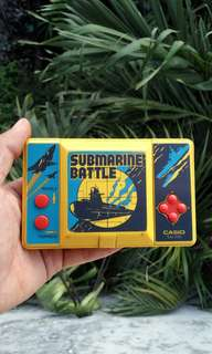 gimbot casio submarine battle