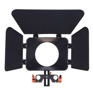 CS - M1 OR STANDARD 15MM RAIL ROD MATTE BOX RIG FOR DSLR CAMERA DV 26.00 x 17.50 x 6.00 cm