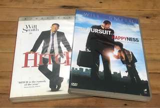 Will Smith's DVDs