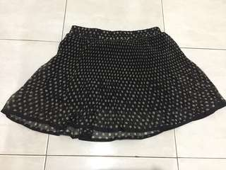 Rok cotton on skirt