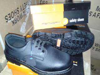 Steel Toe Safety Leather Shoes