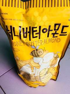 Honey butter almond 600g