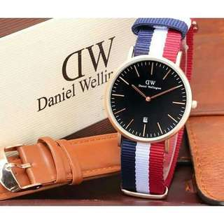 Jam tangan DW (warna lain geser))
