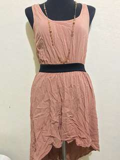 Original FOREVER 21 Nude color Dress! Very Pretty🎀 SUPERSALE BUY ANY 3 ITEMS FOR 750 ONLY!😄🛍🎀