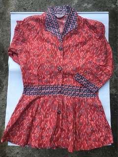 Pemplum Batik in Pink and Blue