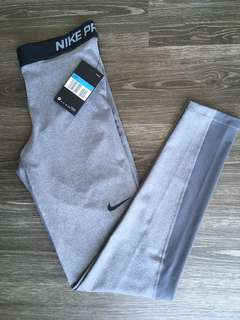 Nike Pro Grey Leggings