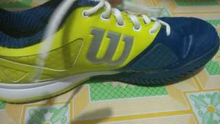 Used Wilson Tennis Rubber Shoes