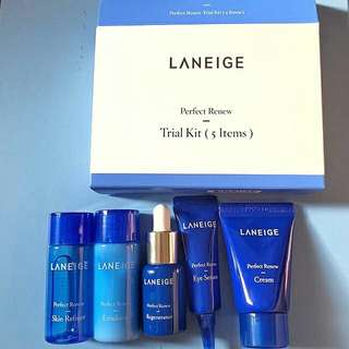 Laneige Perfect Renew Trial Kit