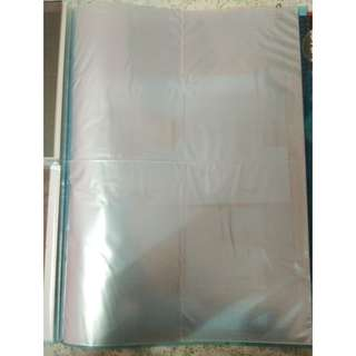 40 Pocket sleeve of 10 pages (4 pocket per page)
