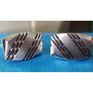 6-pairs vintage cufflinks (lot)