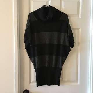 Striped Black Sweater