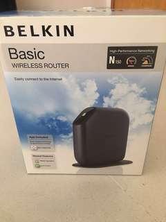 Belkin Basic Wireless Router