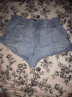 American Eagle Loose Denim Shorts