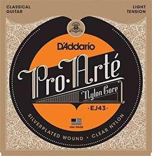 D Addario D`Addario Nylon Classical Guitar Strings