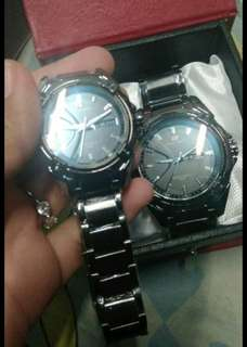 Couple swiss army