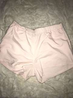 Simple pink shorts