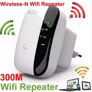 【Fast Delivery】Wireless-N Wifi Repeater 802.11n/b/g Network WiFi Routers 300Mbps Range Expander Sign