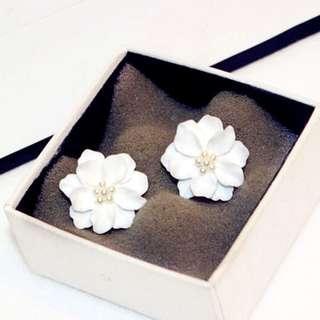 Anting White Flower