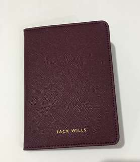 NEW Jack Wills Passport Holder