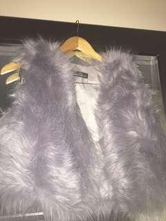 Chic fluffy Vest