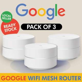 Google Wifi system (set of 3) - Router replacement - LOCAL READY STOCK