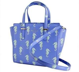 Kate Spade Adventure Blue Seahorse