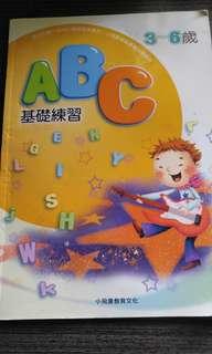 英文寫字練補充, 3-6歲, 未用過
