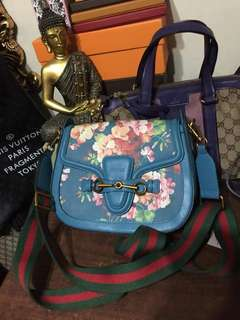 Gucci Floral Sling