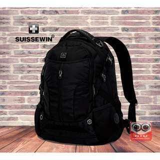 Premium SUISSEWIN Urban and Business Laptop Backpack