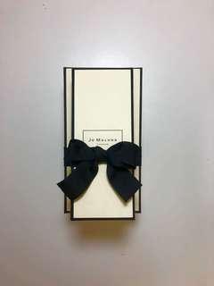 🚚 Jo Malone 原廠禮盒 長方形附緞帶 2件免運