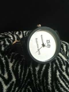 Unisex Good Morning Watch