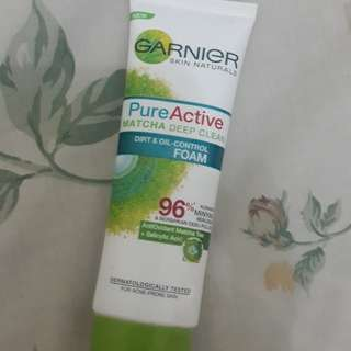 GARNIER Pure Active Matcha Deep Clean