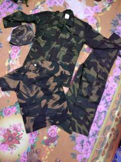 Combo Vintage Malaysia Army (deadstock)