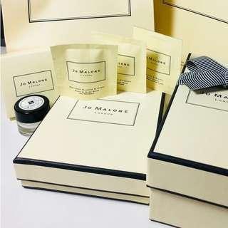 🚚 Jo Malone 原廠方型禮盒 可原廠附緞帶