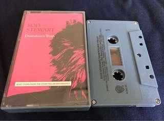 ROD STEWART- Downtown Train Cassette Tape