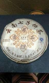 陳年普洱茶-布朗貢品 雲南七子餅茶