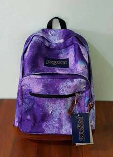 Authentic Jansport Galaxy with Leather Bottom
