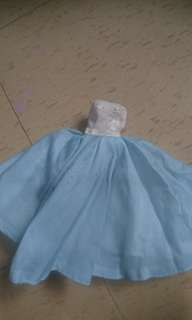 Vintage tube Doll dress