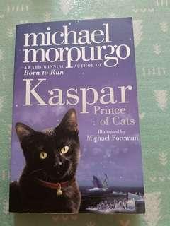 Kaspar prince of cat novel fiction