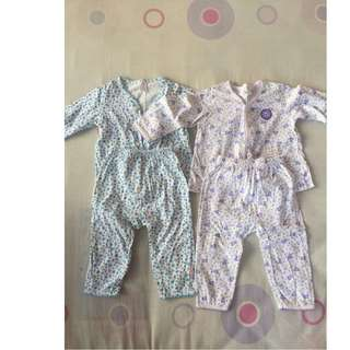 Baby Girl Pyjamas 2 Pack
