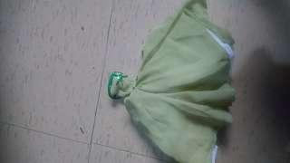 Green tube Doll dress