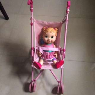 Stroller for big doll