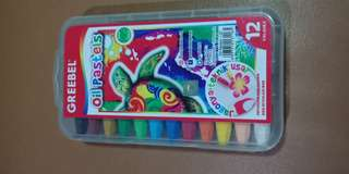 Greebel oil pastels isi 12