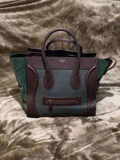 Celine Mini Luggage Tricolor (preloved)
