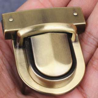 bronze metal accessory for leather luggage and purse