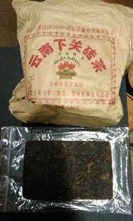 陳年普洱茶-雲南下關磚茶