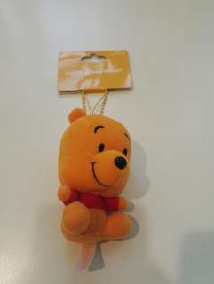 Winnie The Pooh soft key chain/phone from tokyo disney land