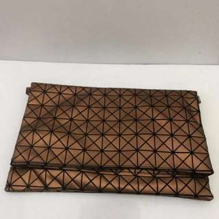 Gold/Bronze Clutch Bag