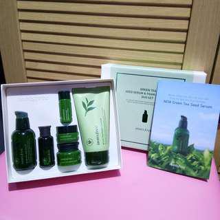 Innisfree green tea seed set NEW